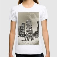 Alicante / Spain 2 Womens Fitted Tee Ash Grey SMALL