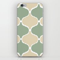 MARRAKECH Sand Green iPhone & iPod Skin