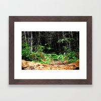 The Yin and the Yang Framed Art Print
