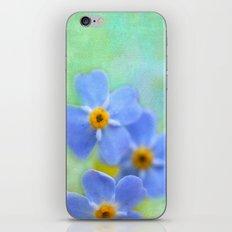 FORGETMENOT iPhone & iPod Skin