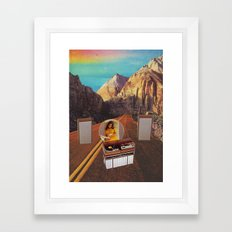 The Sound Fantasy Framed Art Print