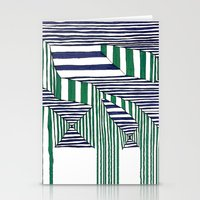 stripes Stationery Cards featuring Stripes by Take Five