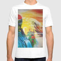 tcs6rec16 White SMALL Mens Fitted Tee
