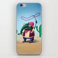 Cowboy iPhone & iPod Skin