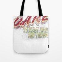 DARE (DOUBLE VISION) Tote Bag