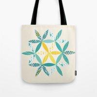Patchwork Sunshine Tote Bag