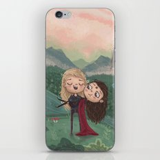 Post-Apocalyptic Girlfriends  iPhone & iPod Skin