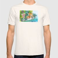 Dream place Mens Fitted Tee Natural SMALL