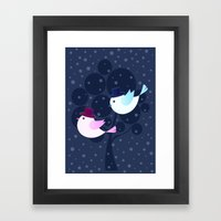 Winter Love Framed Art Print