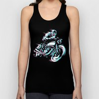 HIPSTER HOT RIDE Unisex Tank Top