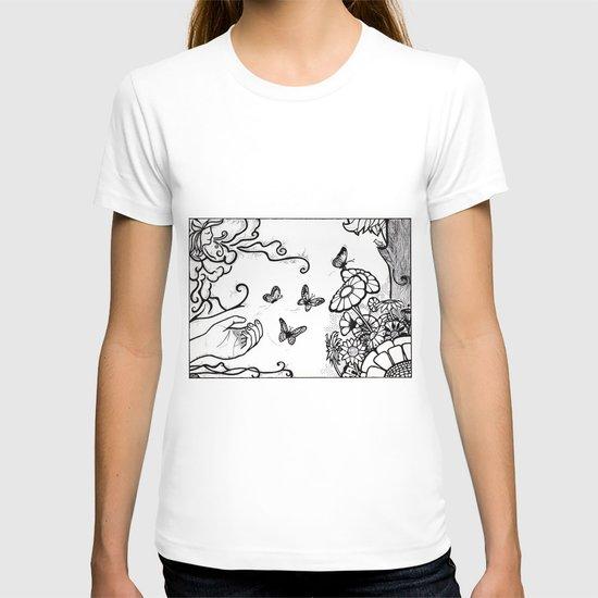 Releasing Butterflies T-shirt