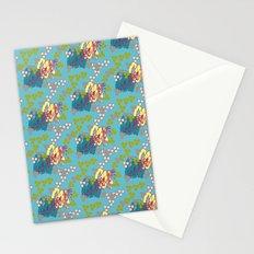 Geo Summer Stationery Cards