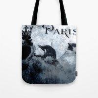 Paris Birds Tote Bag