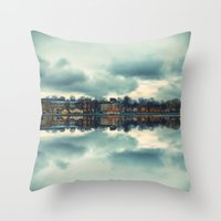 Stockholm Upside-down Throw Pillow