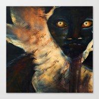 Lurker Canvas Print