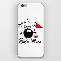 She's Mine iPhone & iPod Skin