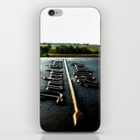 [1280 yards] As the bird flies iPhone & iPod Skin