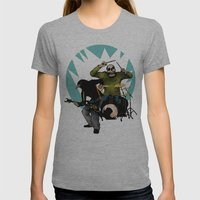 KERRANG! Womens Fitted Tee Athletic Grey SMALL