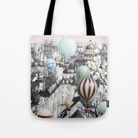 Balloon Travel Tote Bag
