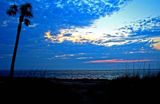 Sunrise on Fripp Island Canvas Print