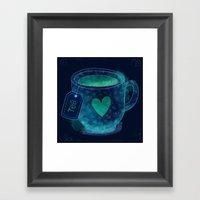 Love Tea Framed Art Print