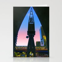 Crane Docklands London Stationery Cards