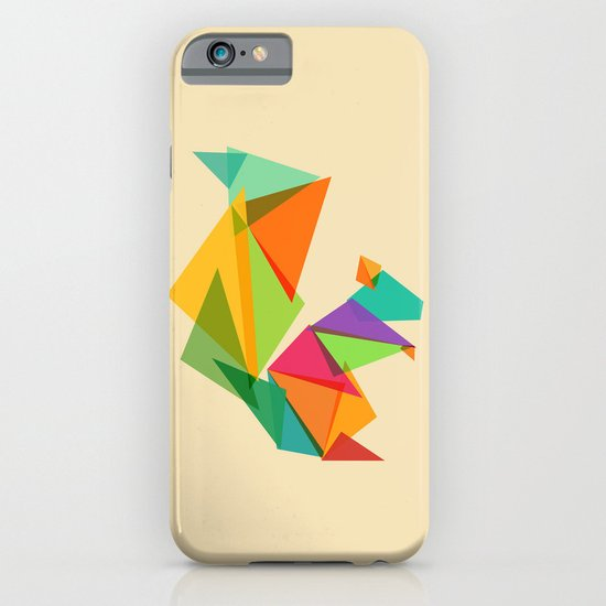 Fractal geometric Squirrel iPhone & iPod Case