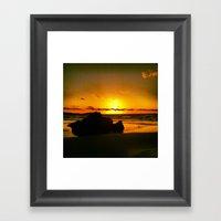 Rocks Within  Framed Art Print