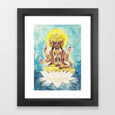 Creation, Brahma Framed Art Print