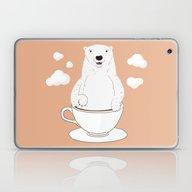 Take A Cup Of Bear Laptop & iPad Skin