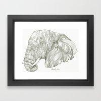 Trophy Game  Framed Art Print