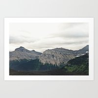 Mountain Green Art Print