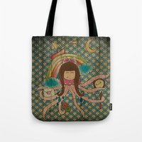 I'm A Little Octopus Tote Bag