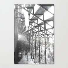 Beneath the Cheering Fans Canvas Print