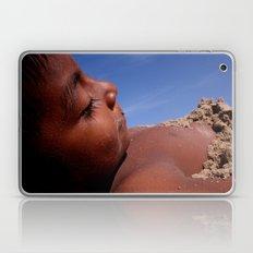 Wittos (Blue) Little Indian Sand Boy  Laptop & iPad Skin