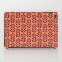 Retro Bloom Purple 5 iPad Case