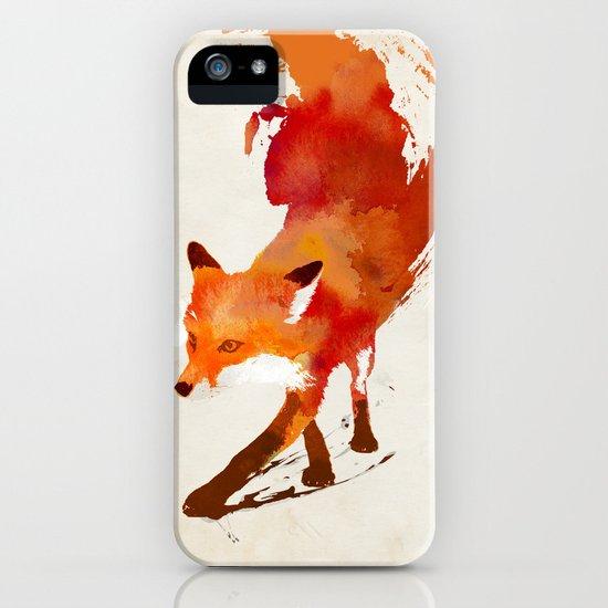 Vulpes vulpes iPhone & iPod Case