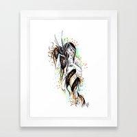 The Dragon Virgo Framed Art Print