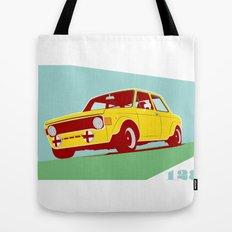 Fiat 128 Tote Bag