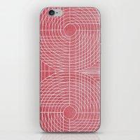 Robotic Boobs Red iPhone & iPod Skin