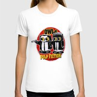 pulp fiction T-shirts featuring Owls Pulp Fiction by Lime