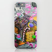 iPhone & iPod Case featuring candy house by Cristian Blanxer