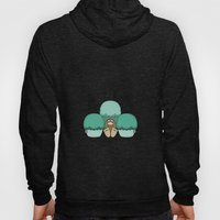 Cute Monster With Cyan F… Hoody