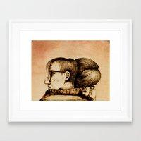 Morning Support Framed Art Print