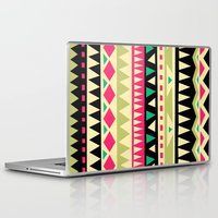 home Laptop & iPad Skins featuring falling in love by Yetiland