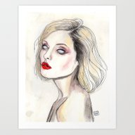 Debbie Harry By Warhol  Art Print