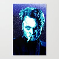James Cagney, blue Madness. Canvas Print