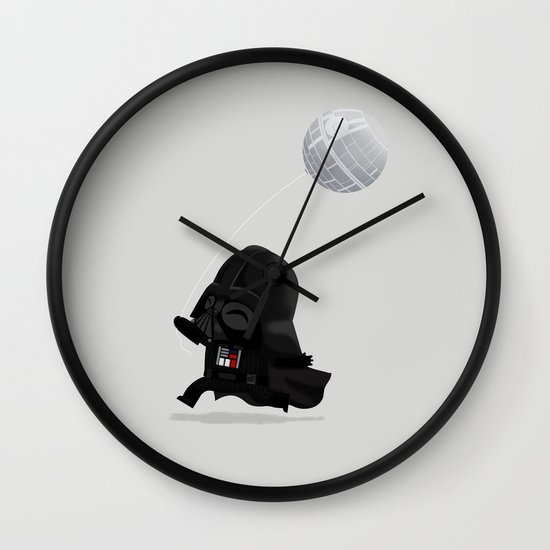 Beware, the Darth Star Wall Clock