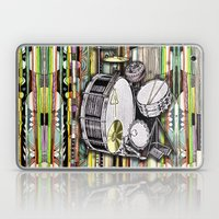 Drum Kit Laptop & iPad Skin