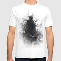 Evil Mens Fitted Tee White SMALL